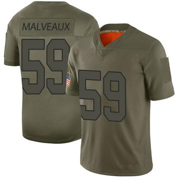 Youth Nike Washington Redskins Cameron Malveaux Camo 2019 Salute to Service Jersey - Limited