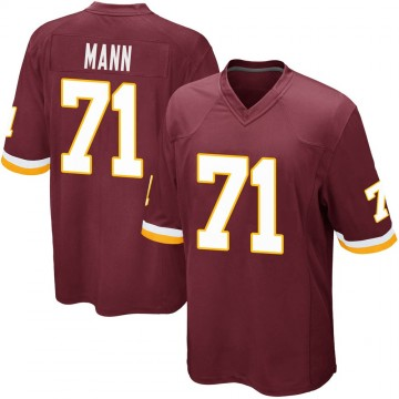 Youth Nike Washington Redskins Charles Mann Burgundy Team Color Jersey - Game