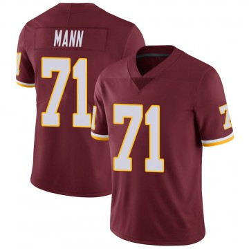 Youth Nike Washington Redskins Charles Mann Burgundy Team Color Vapor Untouchable Jersey - Limited