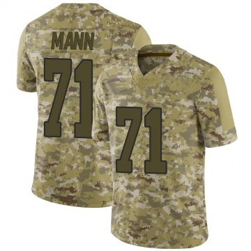 Youth Nike Washington Redskins Charles Mann Camo 2018 Salute to Service Jersey - Limited