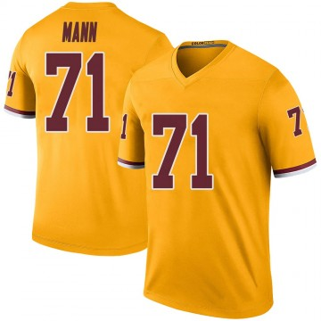 Youth Nike Washington Redskins Charles Mann Gold Color Rush Jersey - Legend