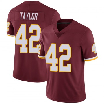 Youth Nike Washington Redskins Charley Taylor Burgundy 100th Vapor Jersey - Limited