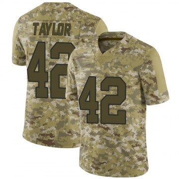 Youth Nike Washington Redskins Charley Taylor Camo 2018 Salute to Service Jersey - Limited