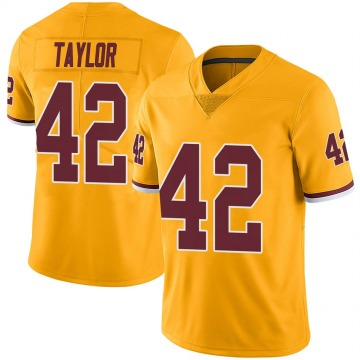 Youth Nike Washington Redskins Charley Taylor Gold Color Rush Jersey - Limited