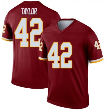 Youth Nike Washington Redskins Charley Taylor Inverted Burgundy Jersey - Legend