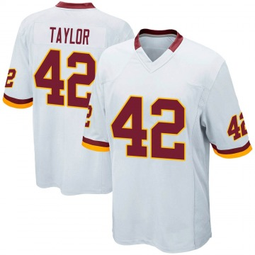 Youth Nike Washington Redskins Charley Taylor White Jersey - Game
