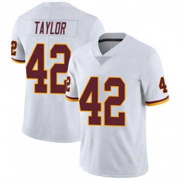 Youth Nike Washington Redskins Charley Taylor White Vapor Untouchable Jersey - Limited