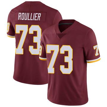 Youth Nike Washington Redskins Chase Roullier Burgundy Team Color Vapor Untouchable Jersey - Limited