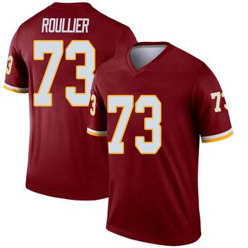 Youth Nike Washington Redskins Chase Roullier Inverted Burgundy Jersey - Legend