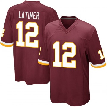 Youth Nike Washington Redskins Cody Latimer Burgundy Team Color Jersey - Game