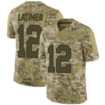Youth Nike Washington Redskins Cody Latimer Camo 2018 Salute to Service Jersey - Limited
