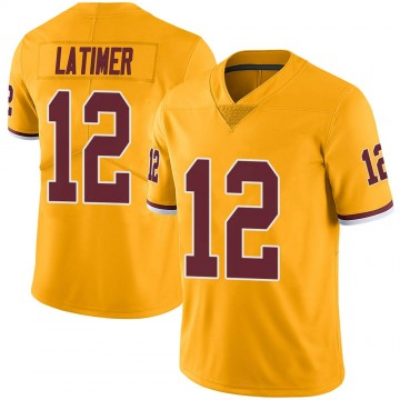 Youth Nike Washington Redskins Cody Latimer Gold Color Rush Jersey - Limited