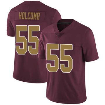Youth Nike Washington Redskins Cole Holcomb Burgundy Alternate Vapor Untouchable Jersey - Limited