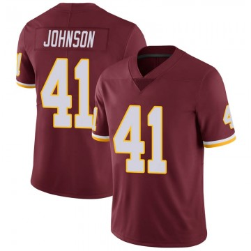Youth Nike Washington Redskins Danny Johnson Burgundy 100th Vapor Jersey - Limited