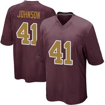 Youth Nike Washington Redskins Danny Johnson Burgundy Alternate Jersey - Game