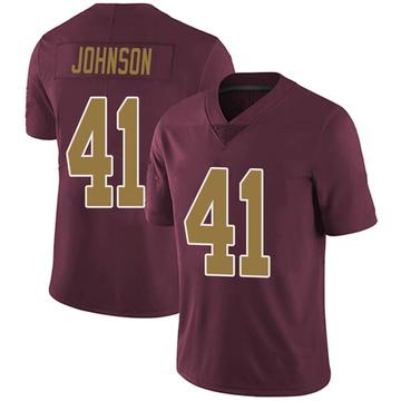 Youth Nike Washington Redskins Danny Johnson Burgundy Alternate Vapor Untouchable Jersey - Limited