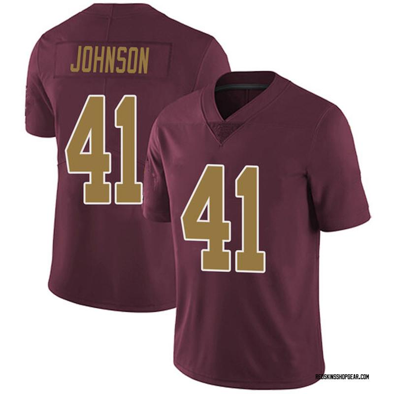 more photos 44529 2b8a2 Youth Nike Washington Redskins Danny Johnson Burgundy Alternate Vapor  Untouchable Jersey - Limited