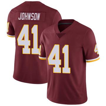 Youth Nike Washington Redskins Danny Johnson Burgundy Team Color Vapor Untouchable Jersey - Limited
