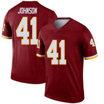 Youth Nike Washington Redskins Danny Johnson Inverted Burgundy Jersey - Legend