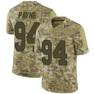 Youth Nike Washington Redskins Daron Payne Camo 2018 Salute to Service Jersey - Limited
