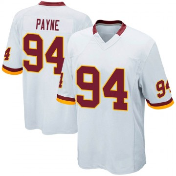 Youth Nike Washington Redskins Daron Payne White Jersey - Game