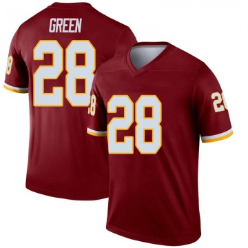 Youth Nike Washington Redskins Darrell Green Green Inverted Burgundy Jersey - Legend