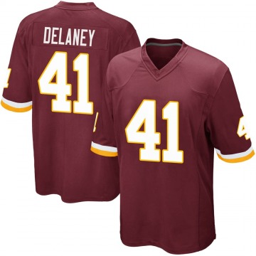 Youth Nike Washington Redskins Dee Delaney Burgundy Team Color Jersey - Game