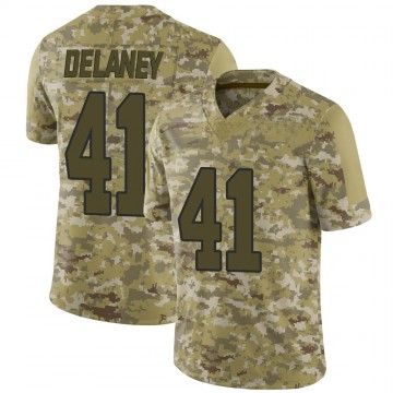 Youth Nike Washington Redskins Dee Delaney Camo 2018 Salute to Service Jersey - Limited