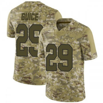 Youth Nike Washington Redskins Derrius Guice Camo 2018 Salute to Service Jersey - Limited