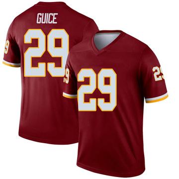 Youth Nike Washington Redskins Derrius Guice Inverted Burgundy Jersey - Legend