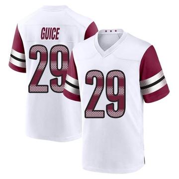 Youth Nike Washington Redskins Derrius Guice White Jersey - Game
