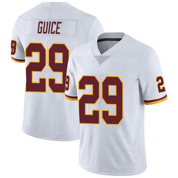 Youth Nike Washington Redskins Derrius Guice White Vapor Untouchable Jersey - Limited