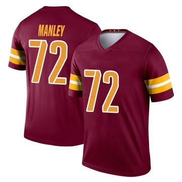 Youth Nike Washington Redskins Dexter Manley Burgundy Jersey - Legend