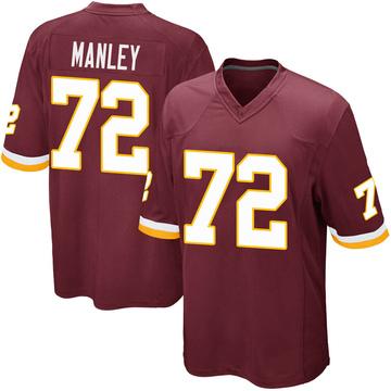 Youth Nike Washington Redskins Dexter Manley Burgundy Team Color Jersey - Game