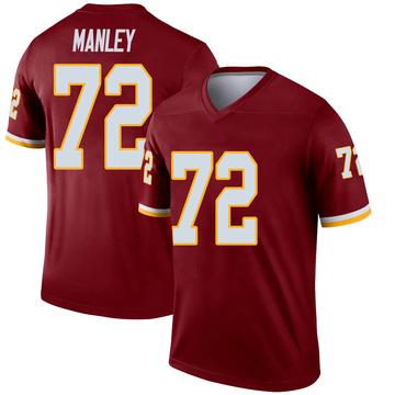 Youth Nike Washington Redskins Dexter Manley Inverted Burgundy Jersey - Legend