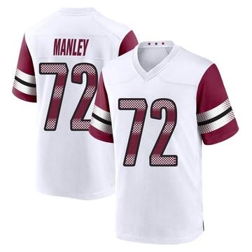 Youth Nike Washington Redskins Dexter Manley White Jersey - Game