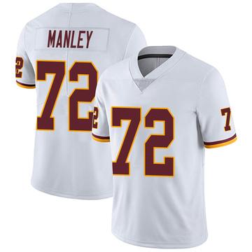 Youth Nike Washington Redskins Dexter Manley White Vapor Untouchable Jersey - Limited
