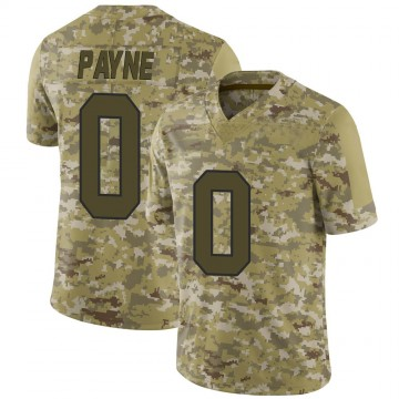 Youth Nike Washington Redskins Donald Payne Camo 2018 Salute to Service Jersey - Limited