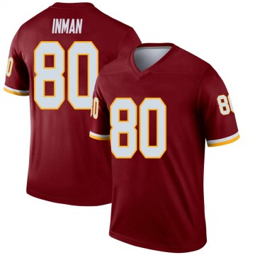 Youth Nike Washington Redskins Dontrelle Inman Burgundy Jersey - Legend
