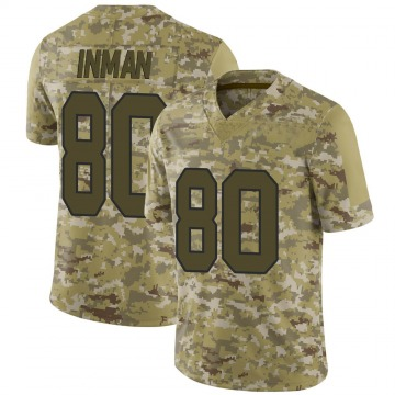 Youth Nike Washington Redskins Dontrelle Inman Camo 2018 Salute to Service Jersey - Limited