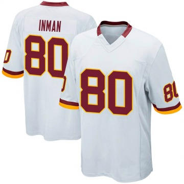 Youth Nike Washington Redskins Dontrelle Inman White Jersey - Game
