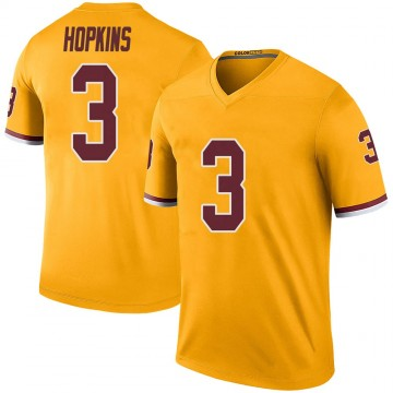 Youth Nike Washington Redskins Dustin Hopkins Gold Color Rush Jersey - Legend