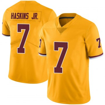 Youth Nike Washington Redskins Dwayne Haskins Gold Color Rush Jersey - Limited
