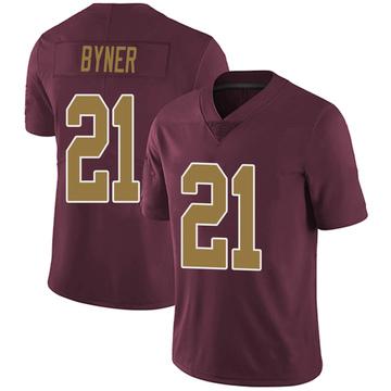 Youth Nike Washington Redskins Earnest Byner Burgundy Alternate Vapor Untouchable Jersey - Limited