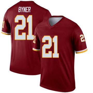 Youth Nike Washington Redskins Earnest Byner Inverted Burgundy Jersey - Legend