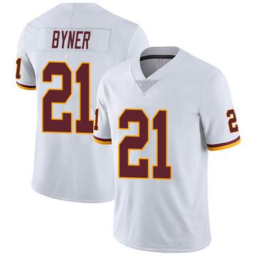 Youth Nike Washington Redskins Earnest Byner White Vapor Untouchable Jersey - Limited