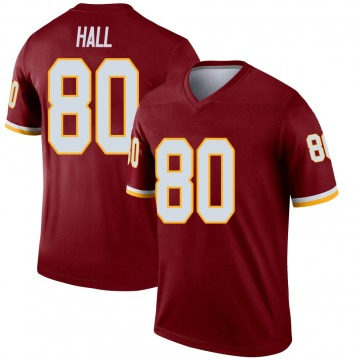 Youth Nike Washington Redskins Emanuel Hall Burgundy Jersey - Legend
