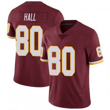 Youth Nike Washington Redskins Emanuel Hall Burgundy Team Color Vapor Untouchable Jersey - Limited