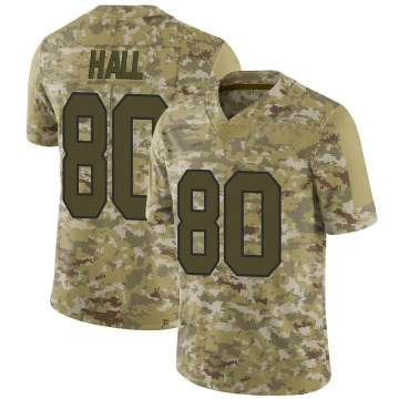 Youth Nike Washington Redskins Emanuel Hall Camo 2018 Salute to Service Jersey - Limited
