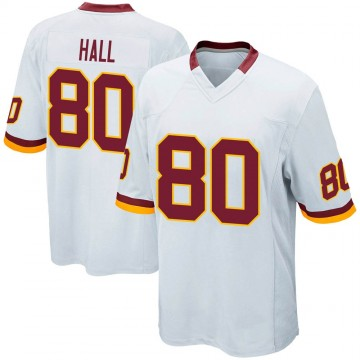 Youth Nike Washington Redskins Emanuel Hall White Jersey - Game